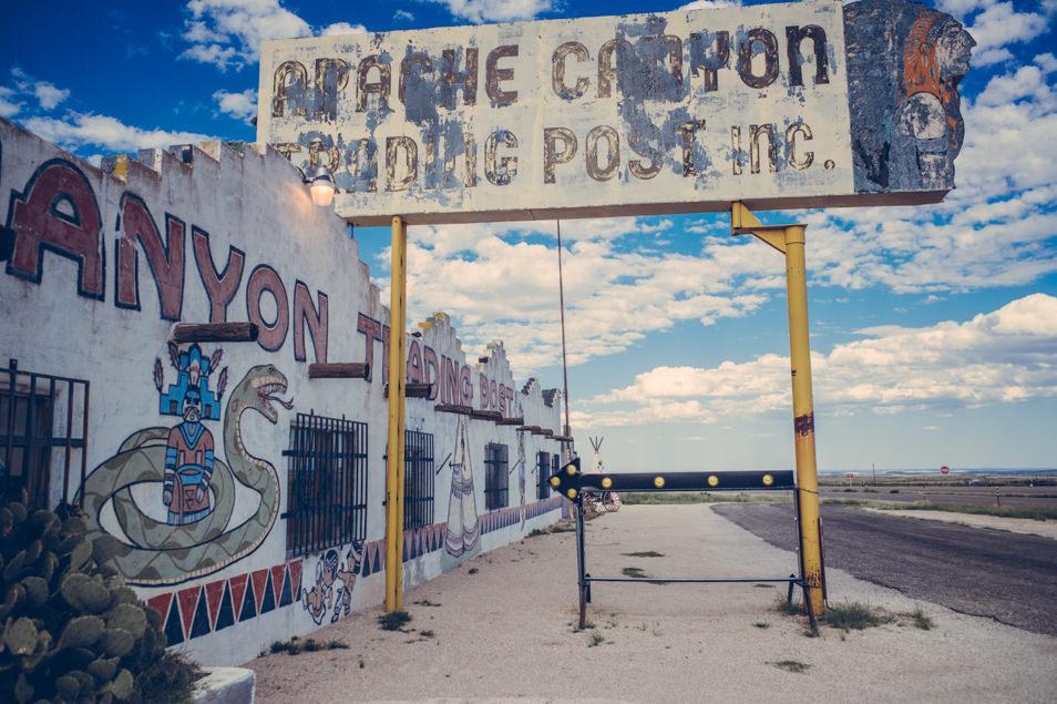 Road trip New Mexico USA