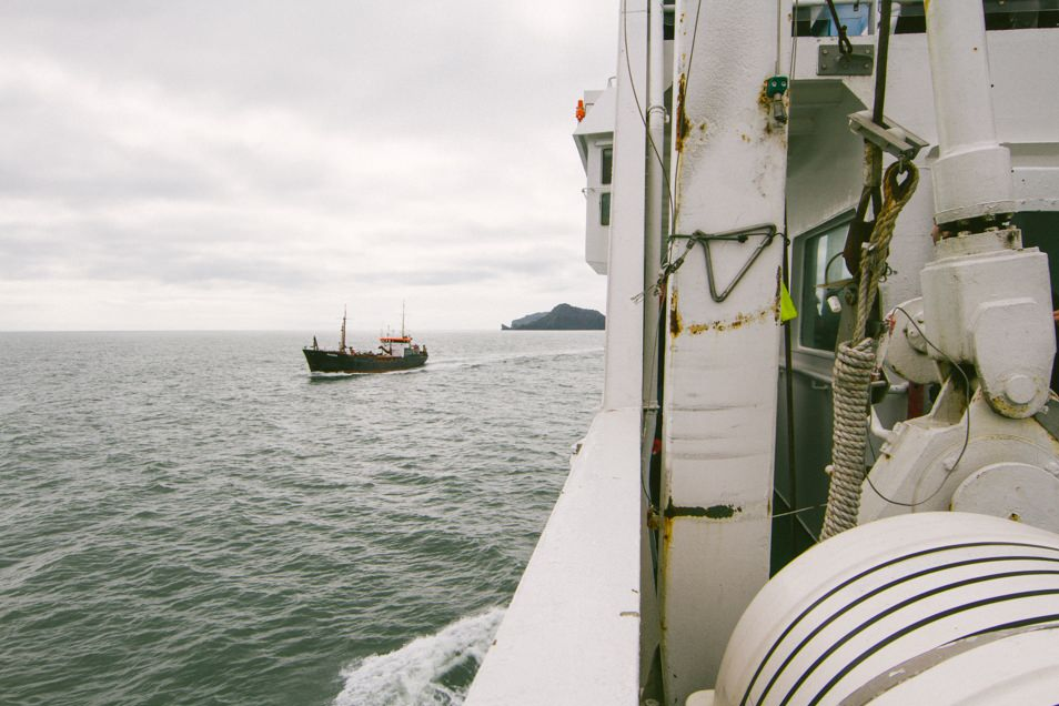 Ferry, Iles Vestmann, Islande
