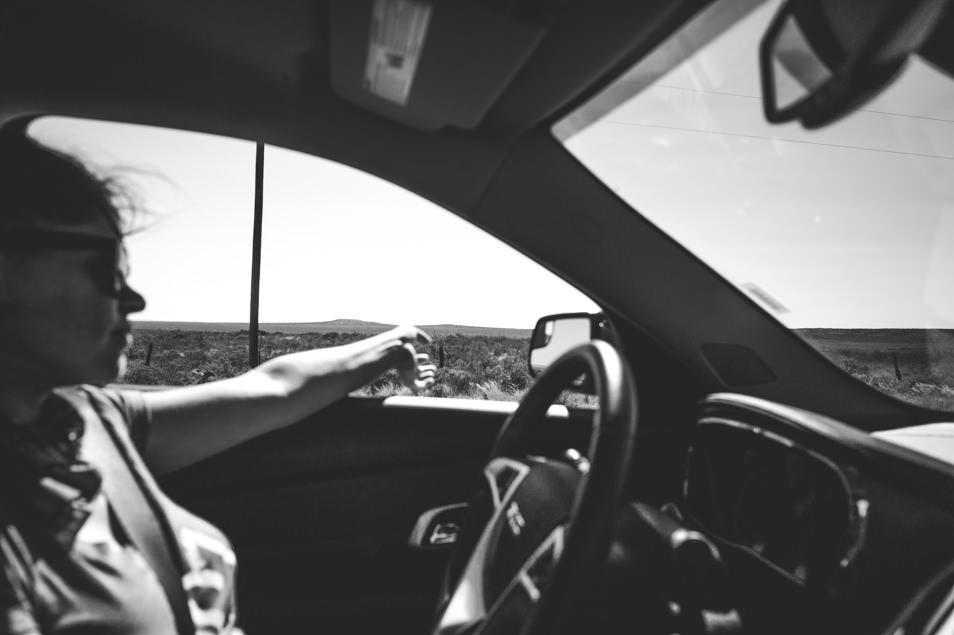 Road trip USA Texas Big Bend
