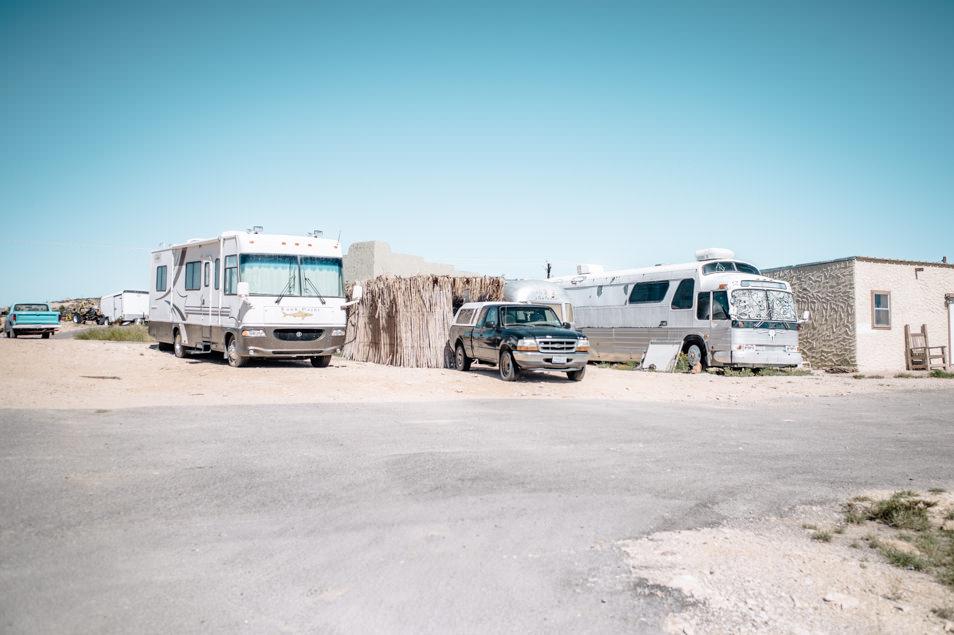 Road trip USA Texas Big Bend Terlingua