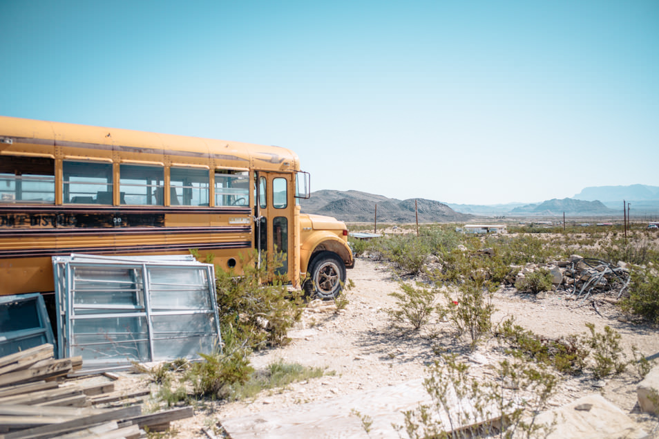 Road trip USA Texas Big Bend Terlingua