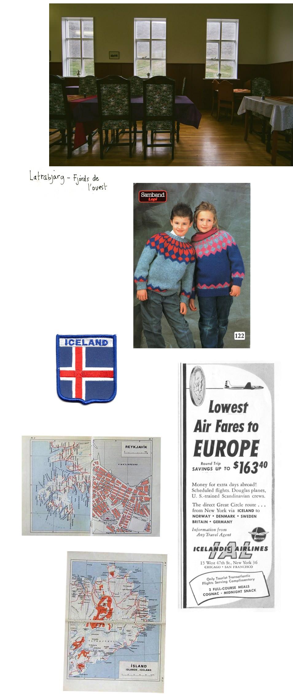 Carnet de voyage Islande