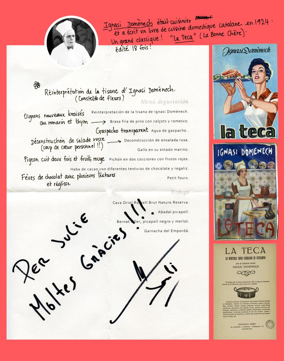 Jordi Llobet, restaurant l'Ô Món Sant Benet