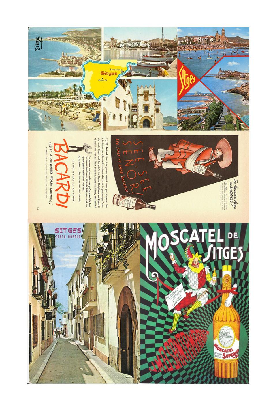 Carnet de voyage Sitges