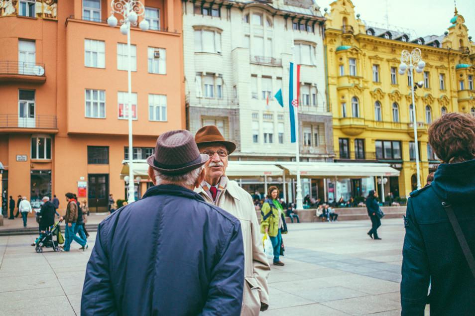 Zagreb, street photography