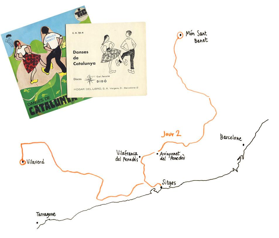 Carnet de voyage, road trip Catalogne
