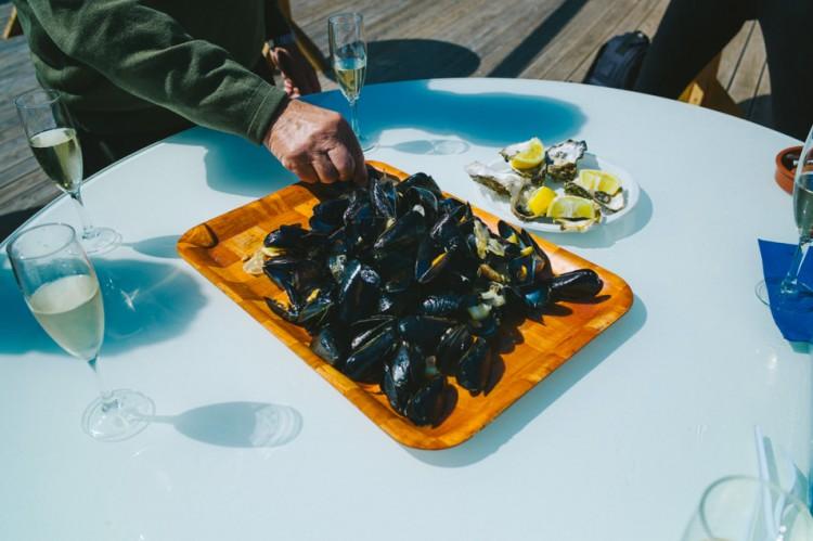 Dégustation fruits de mer, Catalogne