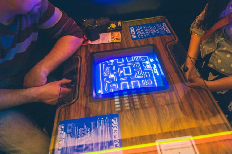 Pacman au Computerspielemuseum, musée du jeu vidéo Berlin