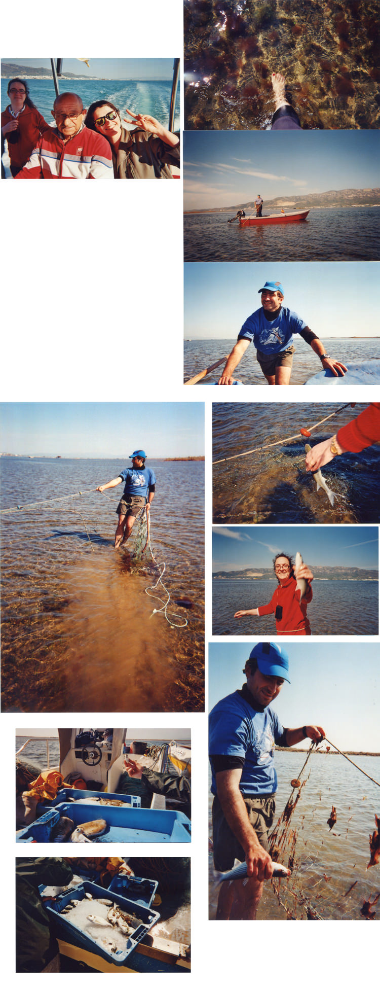 Pêche, Delta de L'Ebre