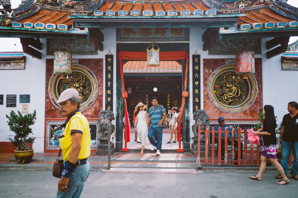 Temple bouddhiste à Malacca