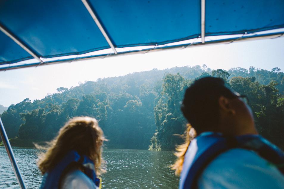 Lac Temenggor, Belum, Malaisie
