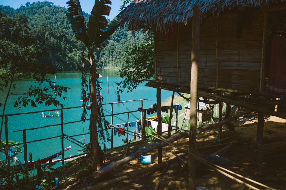 Village Jahai du lac Temenggor, Malaisie