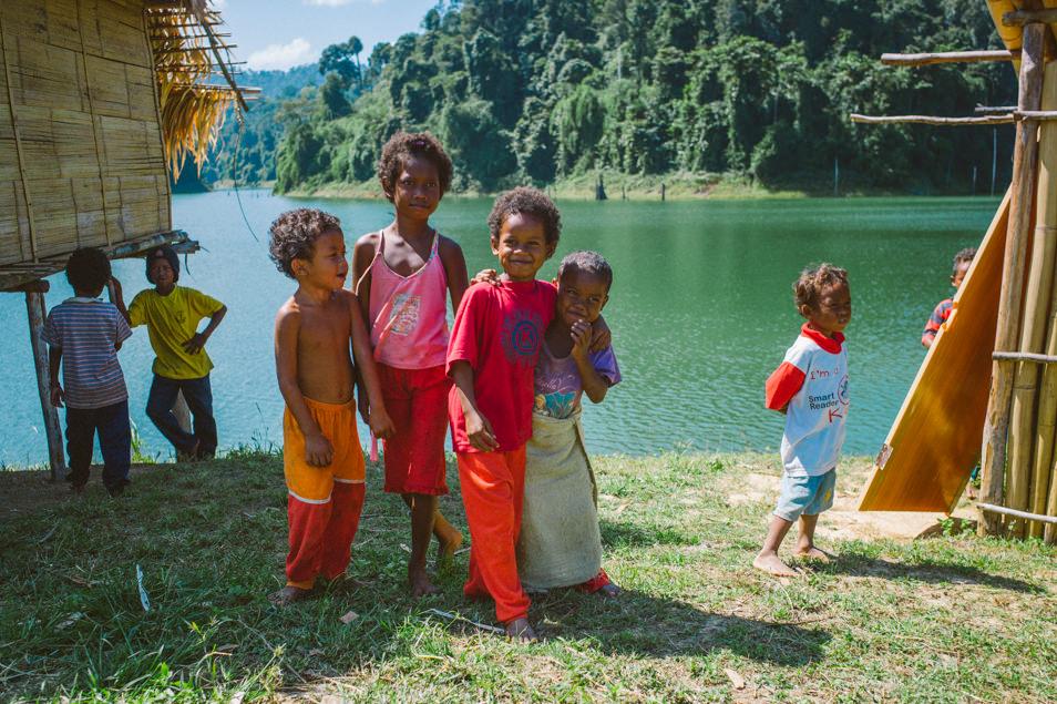 Jahai du lac Temenggor, Malaisie