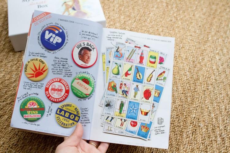 Hervorragend Mon carnet de voyage aux USA dans le magazine de My Little Paris  QI22
