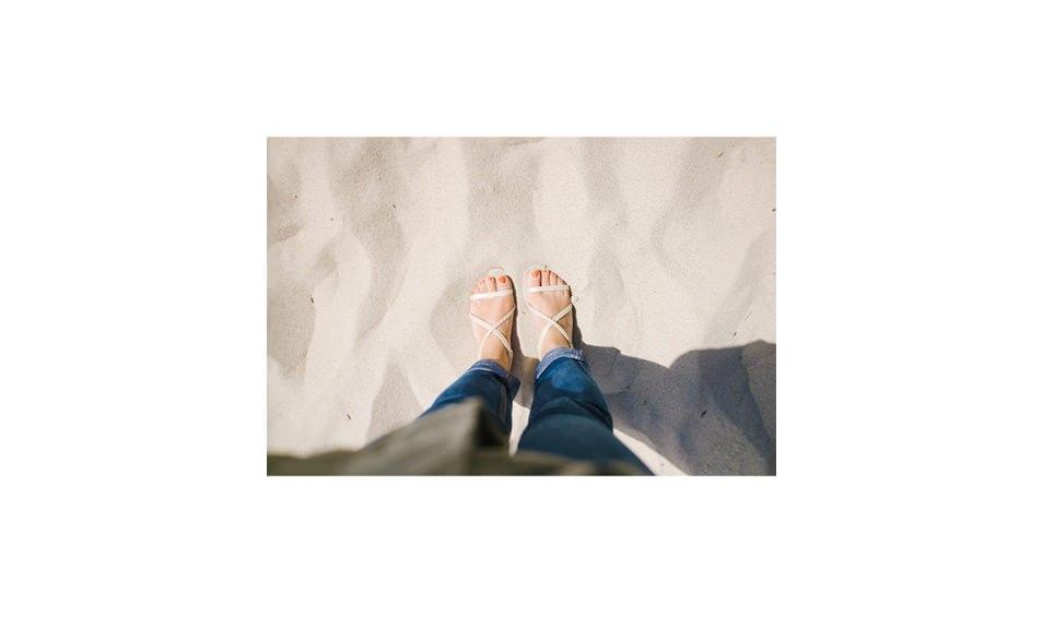 Sur la plage de Sylt, mer des Wadden