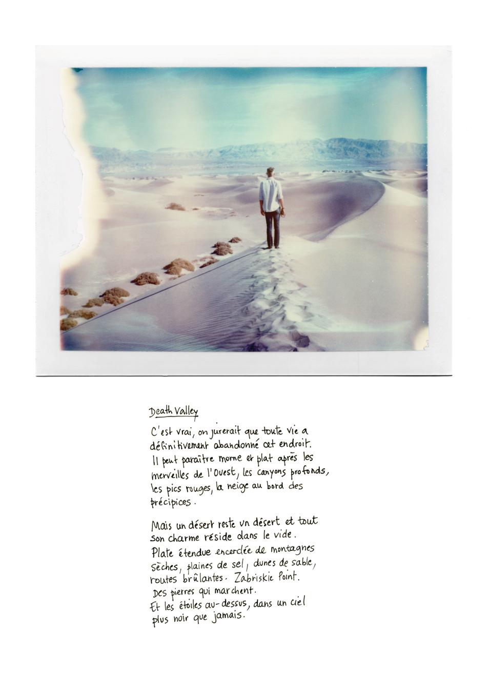 Polaroid - Road trip USA : carnet de voyage