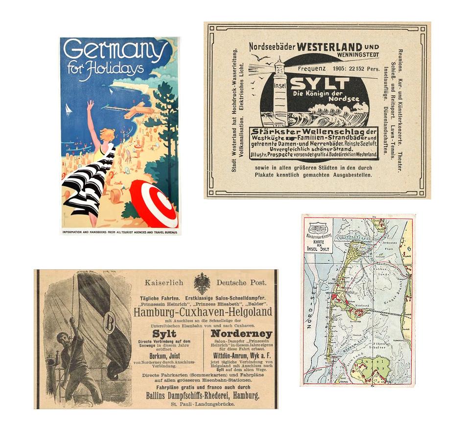 Carnet de voyage Sylt, mer des Wadden