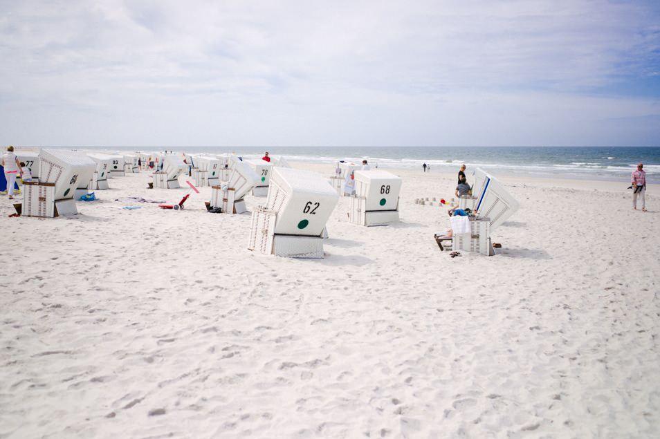 Strandkorbe Sylt, Allemagne