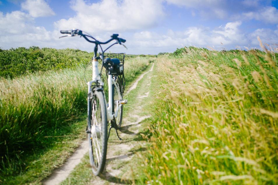 Vélo Sylt, mer des Wadden, Allemagne