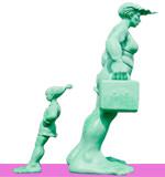 Les trolls de Westerland (sculpture)