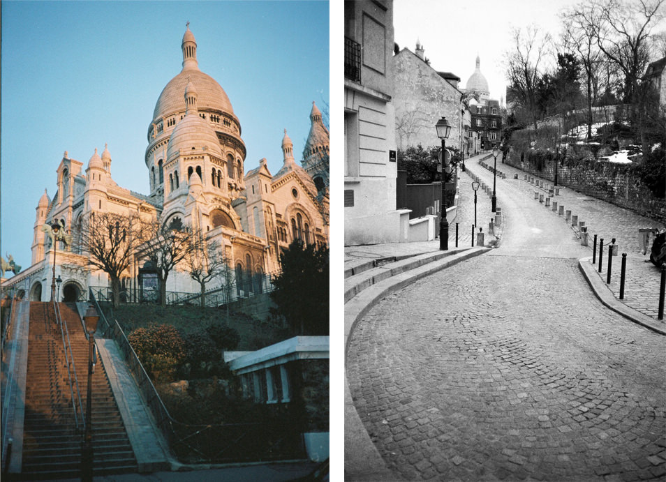 Photo de rue Paris - Montmartre, Sacré Cœur