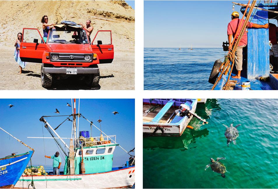 Océan et surf au Pérou, Mancora