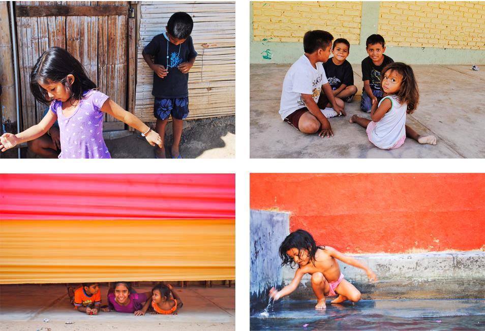 Les enfants de Mancora, Perou