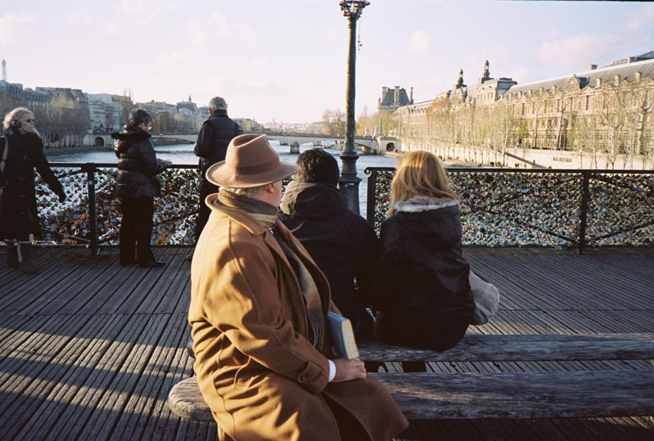 Photo de rue Paris - Pont des Arts