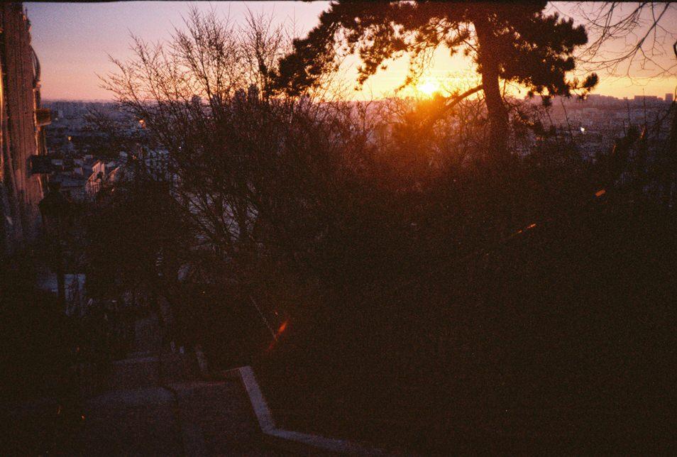 Photo de rue Paris - Montmartre, lever de soleil