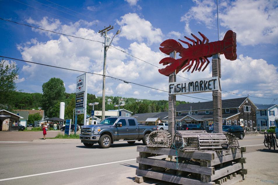Alma, Road trip en Acadie, Nouveau Brunswick