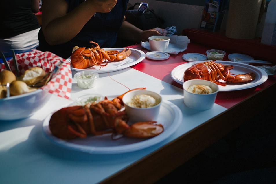 Croisière homard, baie de Shediac, road trip en Acadie, Nouveau Brunswick