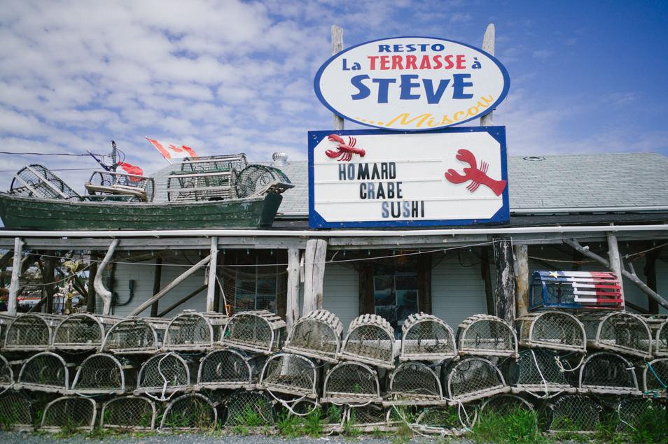 La terrasse à Steve, road trip en Acadie, Nouveau Brunswick