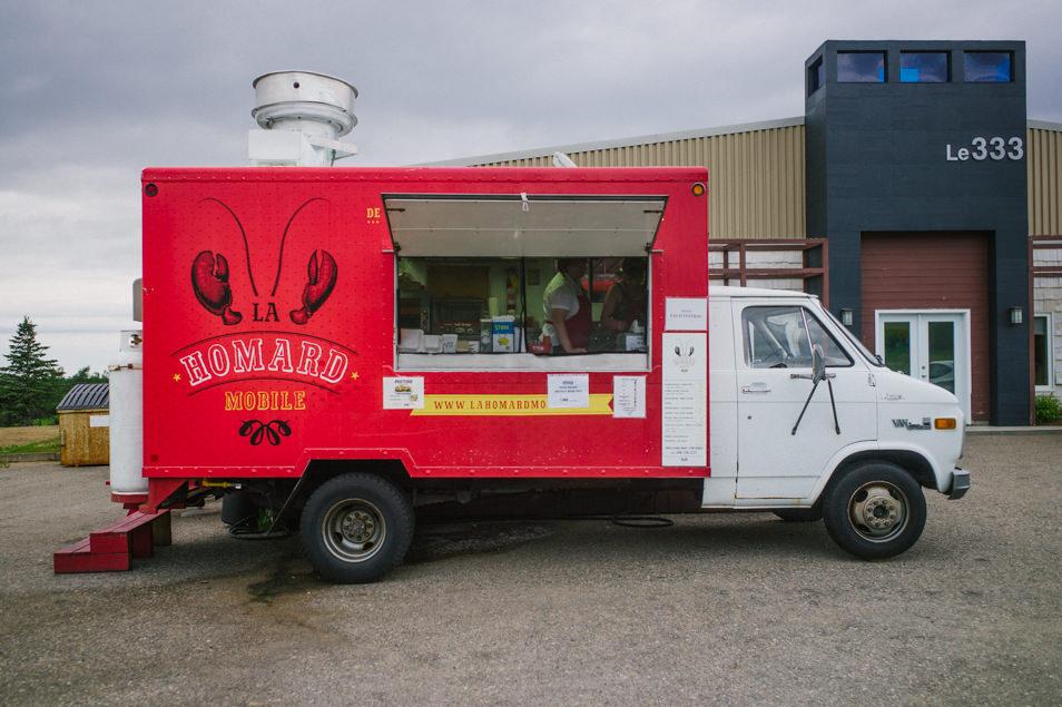 La homard mobile, Caraquet, road trip en Acadie, Nouveau Brunswick