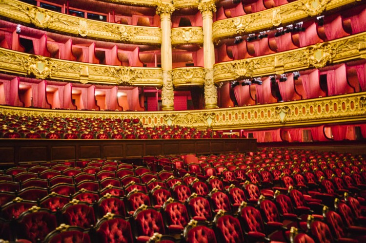 Visite de l'Opéra Garnier, Paris