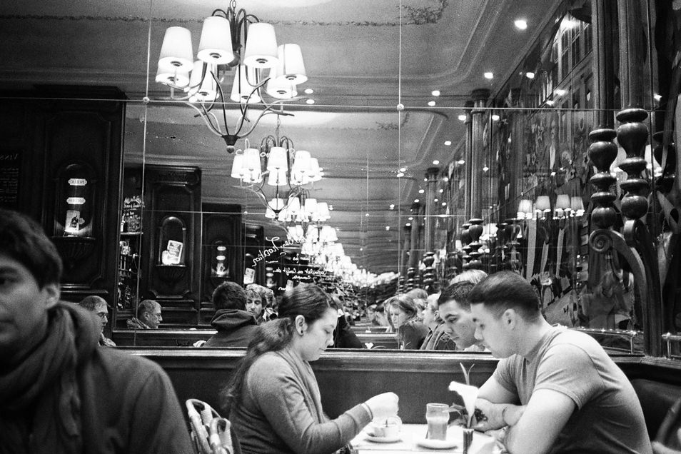 Photo de rue Paris café