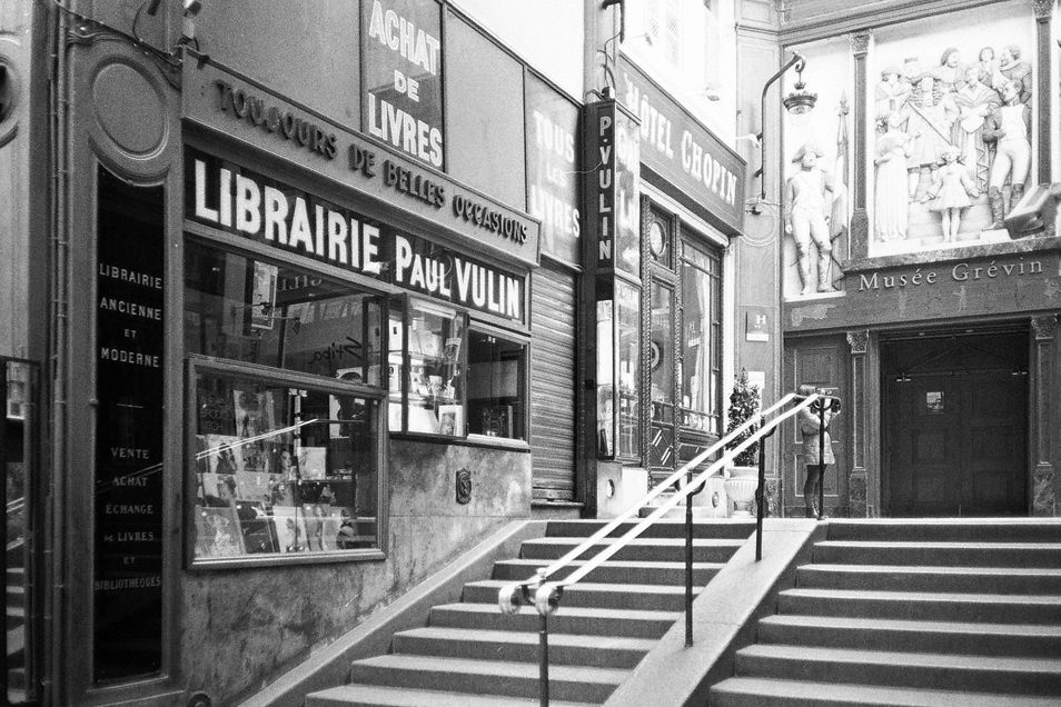 Photo de rue Paris passage Vivienne