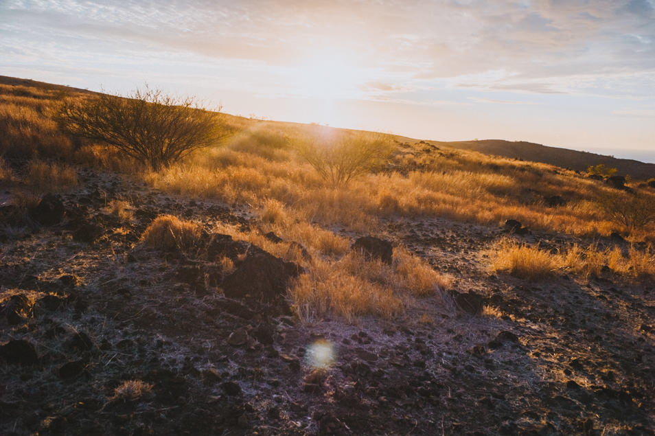 Coucher de soleil, La Réunion