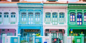 Singapour - Koon Seng road, Katong