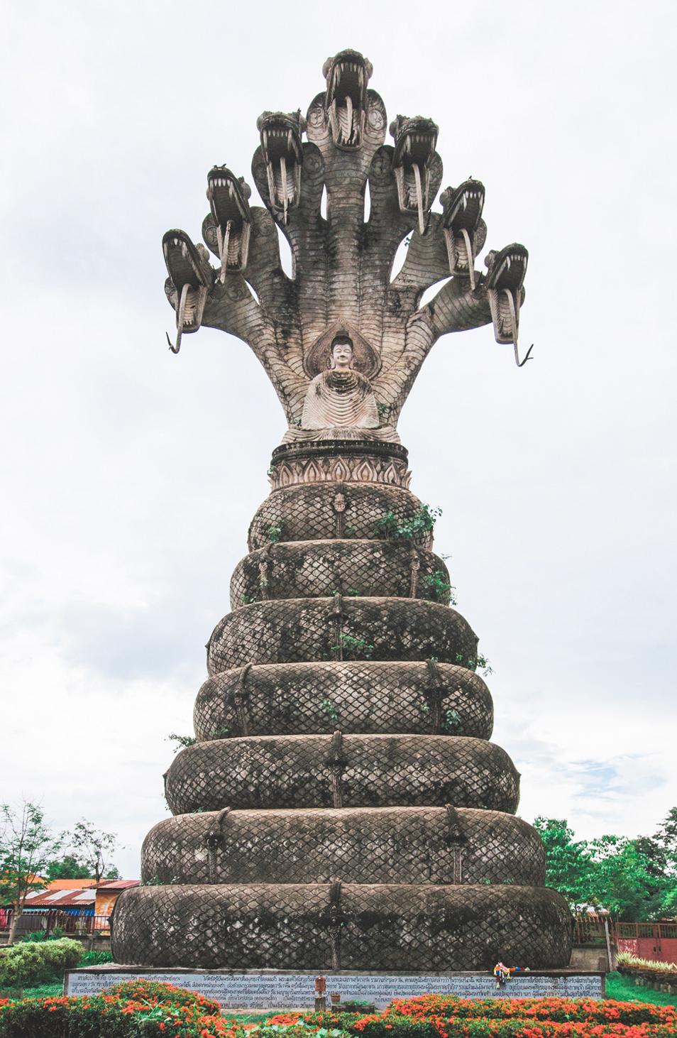 Sala Kaew Ku Temple - Isan, Thailande