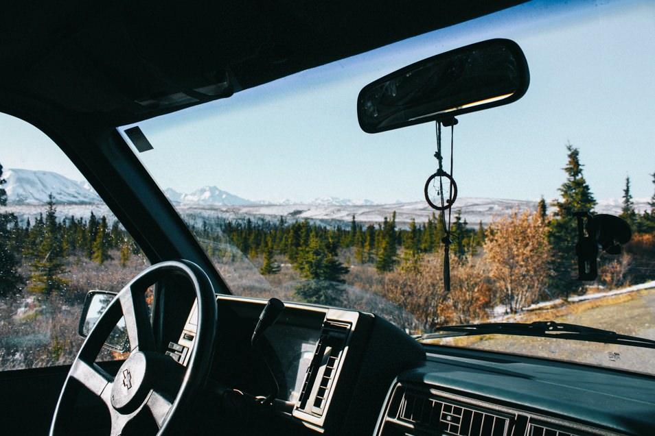 Road trip en Alaska en van
