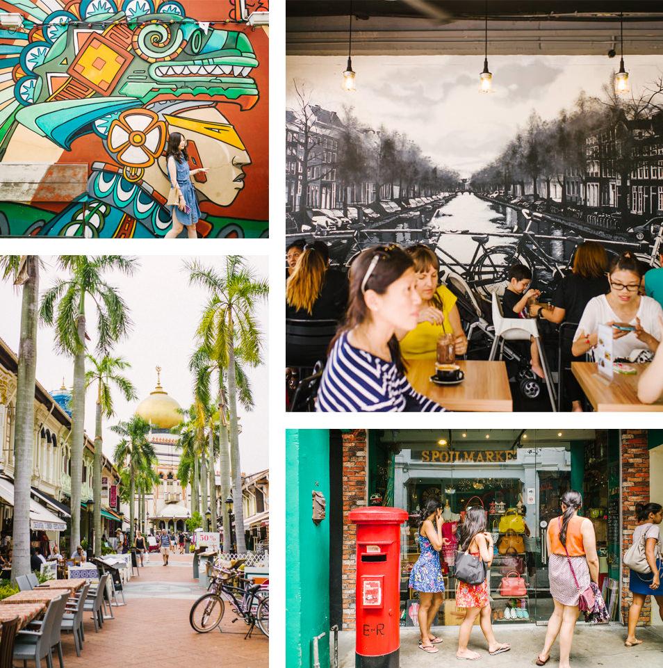Visiter Singapour - Haji Lane