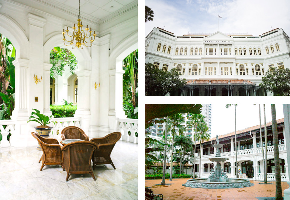 Visiter Singapour - Raffles Hotel