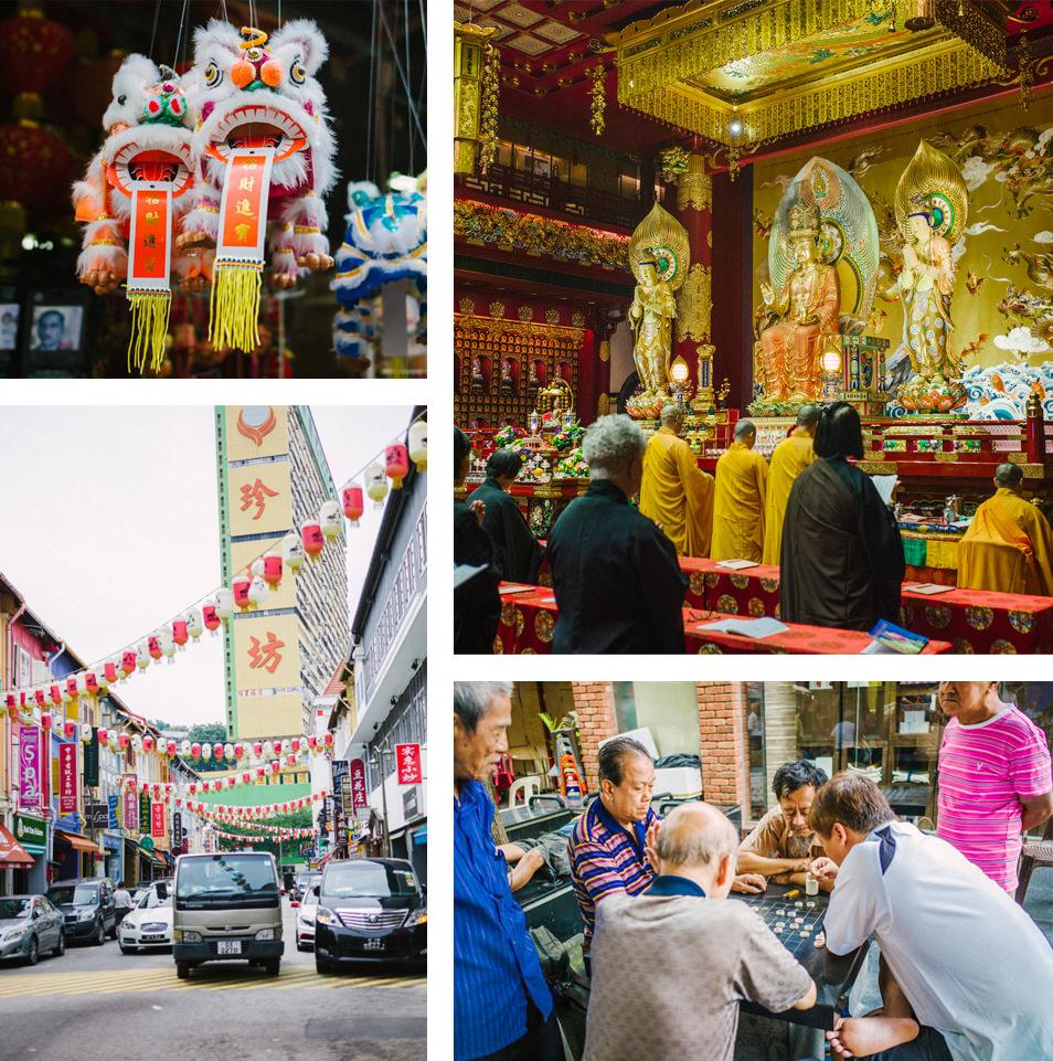 Visiter Singapour - Chinatown