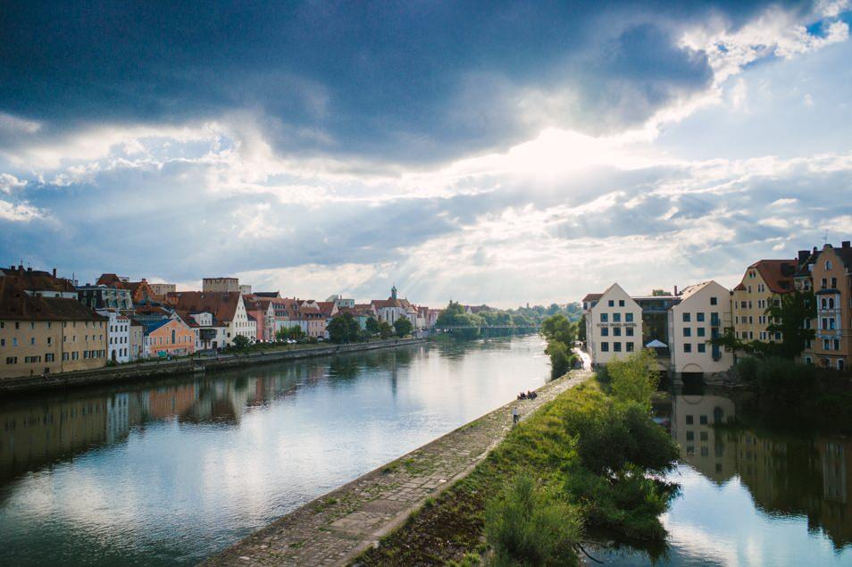 Ratisbonne, le Danube