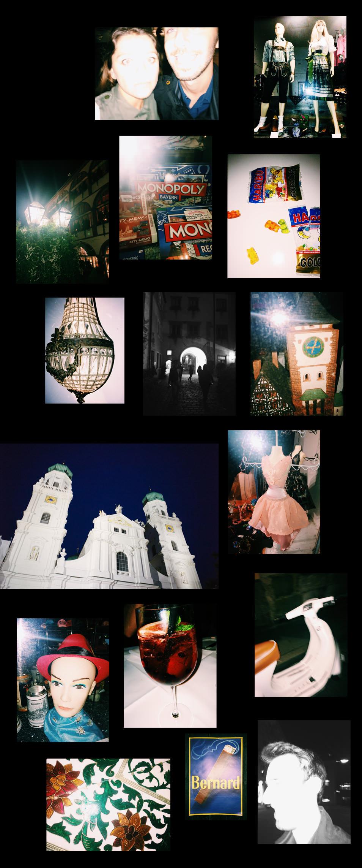 La Baviere, de nuit
