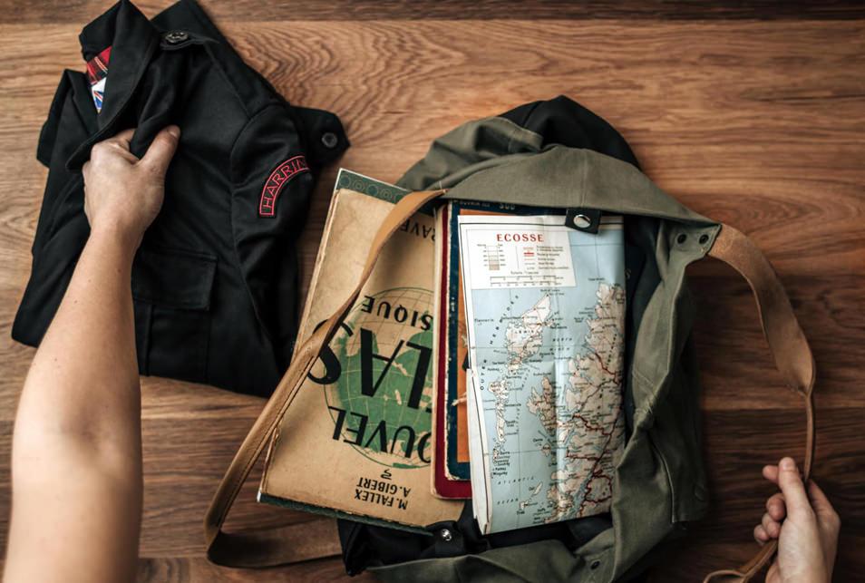 Road trip en Ecosse, dans mon sac