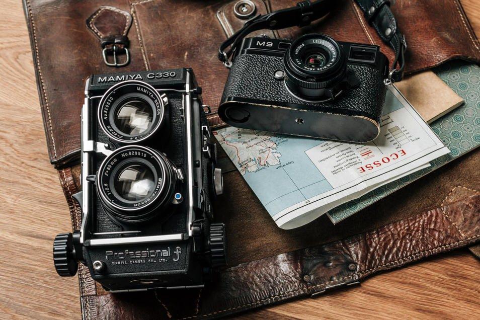 Road trip en Ecosse, Leica et Mamiya