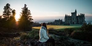 Glengorm Castle, Chateau en Écosse, Highlands, Mull island