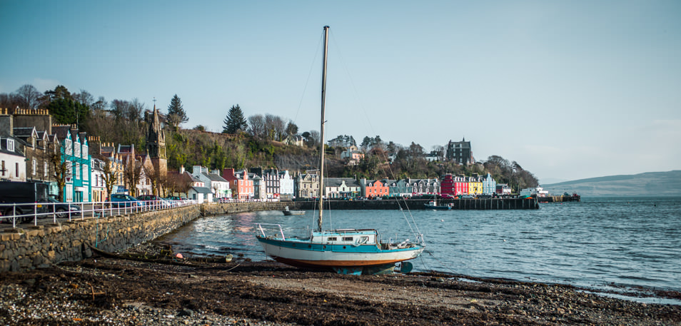 Road trip Ecosse, Tobermory, Mull