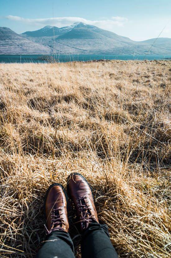 Road trip Écosse, mes boots